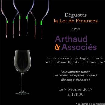 Affiche de la loi de finances du 7 février 2017 - Arthaud & Associés