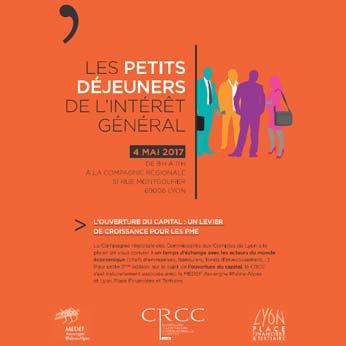 Les petits déjeuners de l'intérêt général - CRCC de Lyon